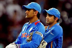 Gambhir blames Dhoni's reminder for missed hundred in 2011 World Cup final