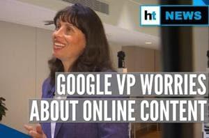 Google VP Jacquelline Fuller shares her concerns about online content