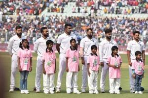 India vs Bangladesh: Indian seamers topple Bangladesh on opening day of Pink-ball Test