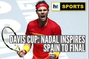 Rafael Nadal leads Spain to Davis Cup Final against Canada