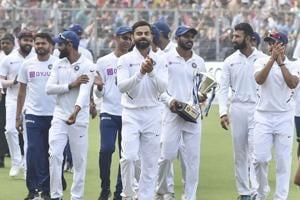 India vs Bangladesh:India sweep series, take victory lap in Kolkata