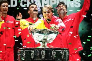 Rafael Nadal delivers glory for Spain as Davis Cup starts new era