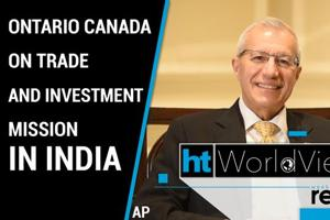 Worldview: Ontario Minister on expanding trade ties with India