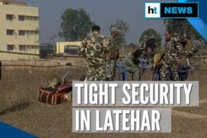 Battleground Jharkhand: Tight security in Latehar ahead of polls