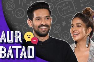 Vikrant Massey, Harleen Sethi on heartbreaks, ideal date || AUR BATAO ||...