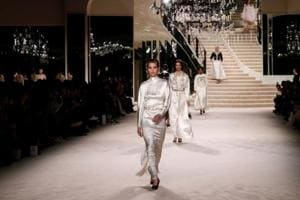 PHOTOS: Birdcages and pearls galore at Chanel's craft-heavy fashion show