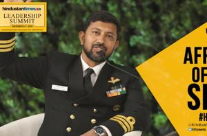 'Not afraid of the sea, scared of people': Cdr Abhilash Tomy at HTLS 20...