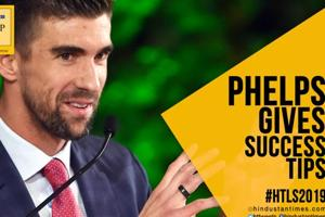 HTLS 2019: Michael Phelps gives success tips for 'greatness'