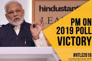 #HTLS2019: PM Modi remembers BR Ambedkar; reveals how he won 2019 LS po...