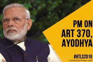 Citizenship Bill, Art 370, Ayodhya: PM's 'better future' pitch | HTLS 2...