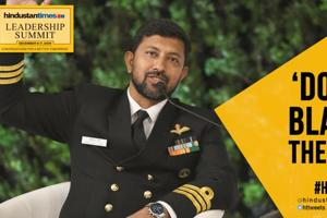 'Don't blame the sea, it was my failure': Cdr Abhilash Tomy at HTLS 2019