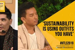 #HTLS 2019: Manish Malhotra, Prabal Gurung on sustainability in fashion