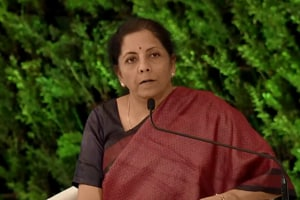 HTLS 2019: We're moving towards simplified, harassment-free taxation regime, says Nirmala Sitharaman