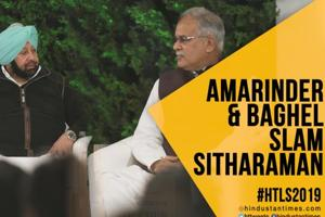 'Nirmala Sitharaman does not understand economy': Bhupesh Baghel at HTLS...
