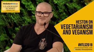 HTLS 2019: Heston Blumenthal on vegetarianism and veganism
