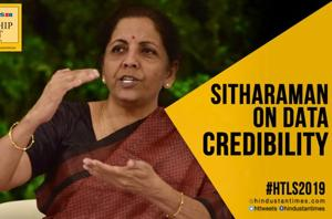 #HTLS2019: 'Need to bring back credibility into data': Sitharaman