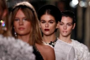 Photos: Birdcages and pearls galore at Chanel's craft-heavy fashion show in Paris