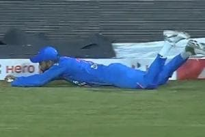 India vs West Indies: Virat Kohli lights up hosts' poor day in field with sensational diving catch - Watch
