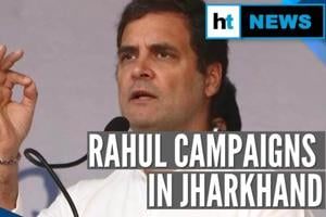 Jharkhand polls: Rahul Gandhi repeats 'rape capital' charge to attack B...