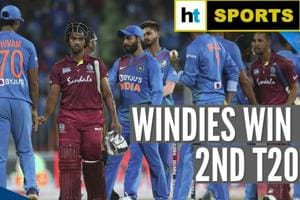 West Indies beat India by 8 wickets in 2nd T20I to level series