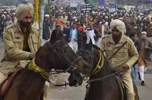 Ludhiana: Muslim bodies take out protest march against citizenship law