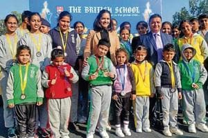 Annual sports day at The British School Chandigarh