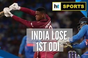 West Indies beat India by 8 wickets to take lead in ODI series
