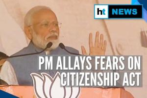 Watch: PM Modi's dare to opposition parties on Citizenship Amendment Act