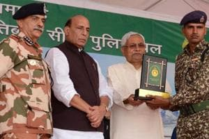 Nitish writes to Rajnath against proposal to close Army Officers Training Academy