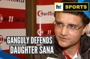 Keep Sana out of this: Sourav Ganguly says daughter's post on CAA was '...