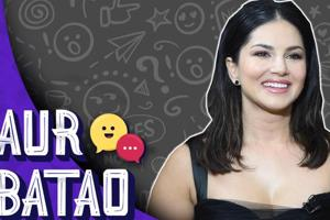 Aur Batao: Sunny Leone on her favourite food, film genre | Ragini MMS Returns...