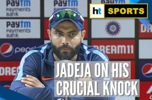India beat West Indies l 'Wanted to play till the end': Ravindra Jadeja