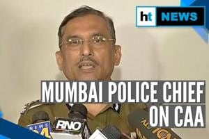 Mumbai police chief clears 'misconceptions' about Citizenship Act