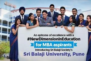 Sri Balaji Society proudly announces Sri Balaji University Pune -SBUP-