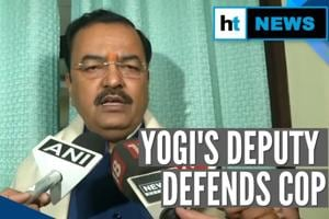 UP Deputy CM defends cop over 'go to Pakistan' comment during CAA prote...