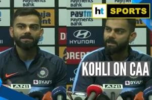 Virat Kohli deflects CAA question: 'Can't comment without total knowled...
