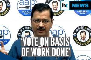 'Don't vote for your party, vote for Delhi': Kejriwal's message to vote...
