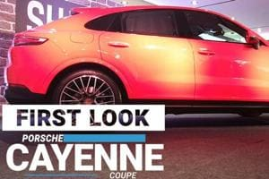 First Look: Porsche Cayenne Coupe