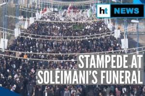Over 50 killed, 190 injured in stampede at Qassem Soleimani's funeral p...