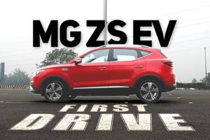 MG ZS EV: First Drive review