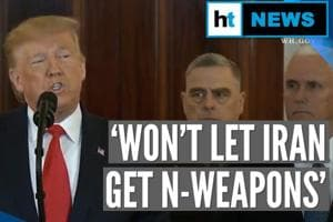 In Donald Trump's warning to Iran, jibe at Obama, 'lethal missile' thre...
