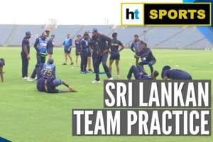 Watch: Sri Lanka gear up for 3rd T20I against India