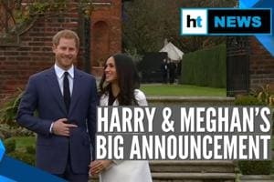 Prince Harry & Meghan to step back as senior UK royals; Queen responds