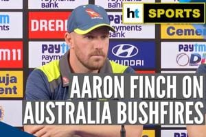 'Cricket is insignificant when it comes to Australia bushfires': Aaron ...