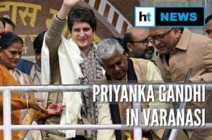 Priyanka Gandhi meets activists held during CAA stir in Varanasi, BJP lashes...
