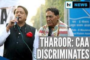 Anti-CAA protest: Congress' Shashi Tharoor supports stir at Jamia, Shaheen...