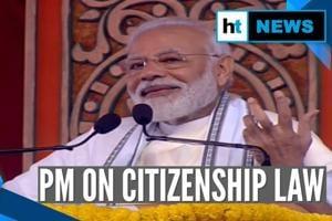'I repeat, CAA not to revoke anyone's citizenship': PM Modi at Belur Ma...