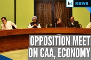 6 parties skip Opposition meet on CAA, economy; BJP slams 'vote bank po...