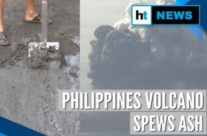 Watch: Philippines' Taal volcano spews ash & lava, locals evacuated