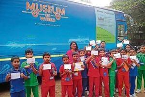 Mumbai school events: School plays host to Museum on Wheels